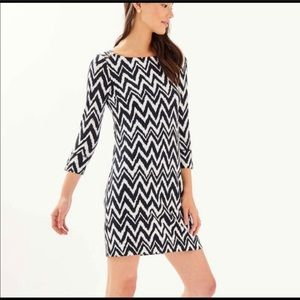 """Lilly Pulitzer Sophie """"Get Your Chevron On"""" Dress"""